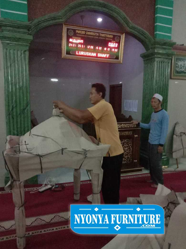 kirim mimbar masjid ke Tangerang banten