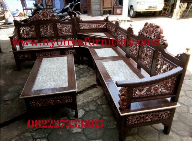 55 Model Kursi Sudut Bambu HD