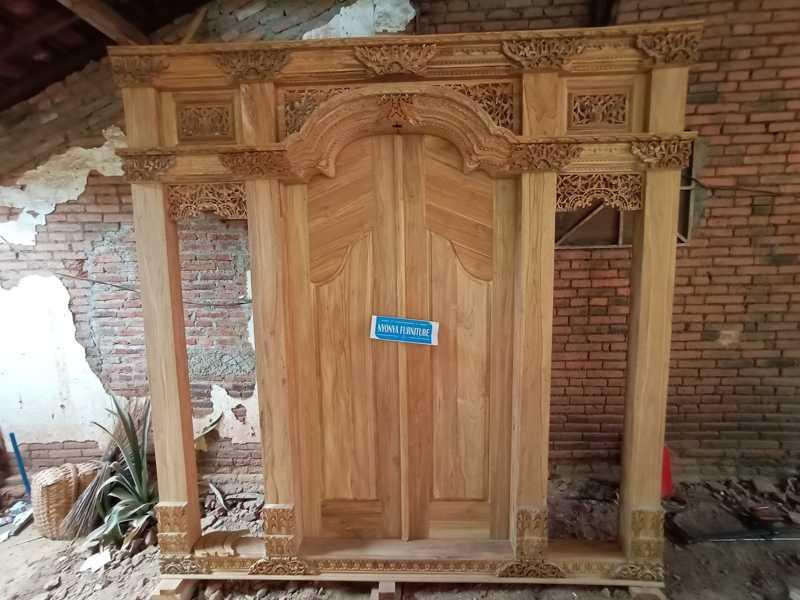 pintu gebyok polos,Gebyok minimalis 2,5 meter