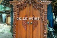 Koleksi Pintu gebyok minimalis informasi detail + harga jual
