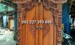 harga pintu gebyok minimalis