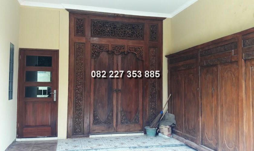 harga pintu gebyok minimalis klasik