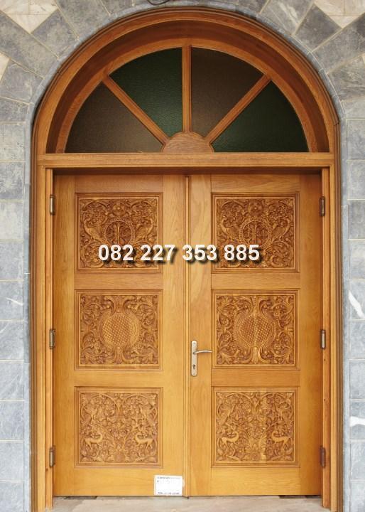 penjual pintu gebyok minimalis harga murah