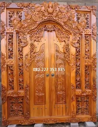 pintu gebyok stil bali
