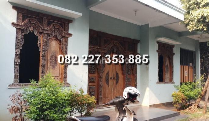 Contoh Rumah Dengan Pintu Gebyok Khas Jepara + Informasi Detail
