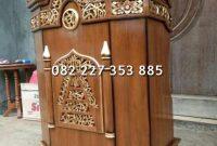 Jual mimbar masjid jati   kirim ke surabaya
