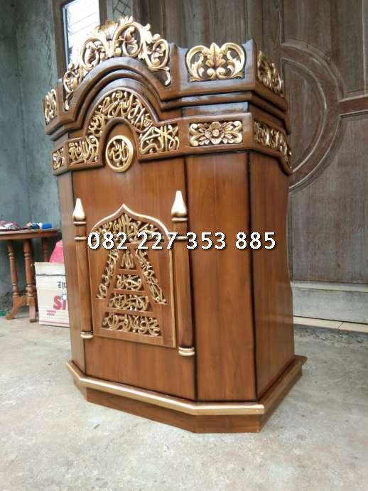 Jual mimbar masjid surabaya
