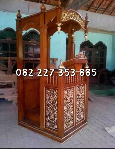 Jual mimbar masjid di jakarta