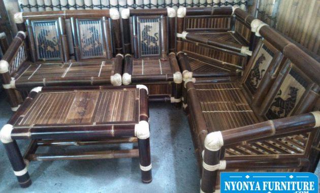 Harga kursi sudut bambu bekasi