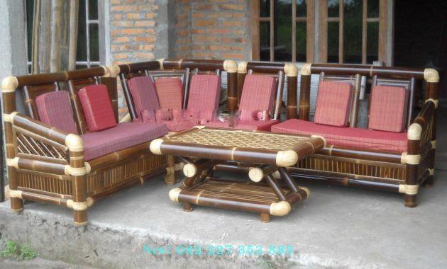 harga kursi sudut bambu