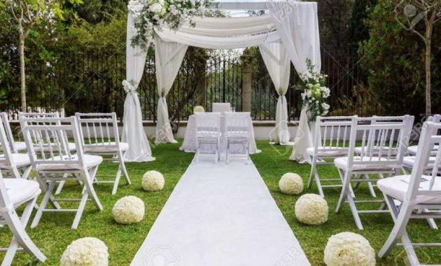 kursi pernikahan kayu lipat