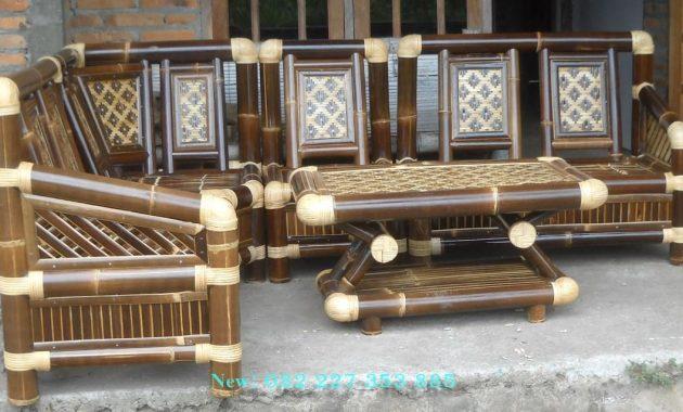 Kursi Sudut Bambu Murah Terbaik