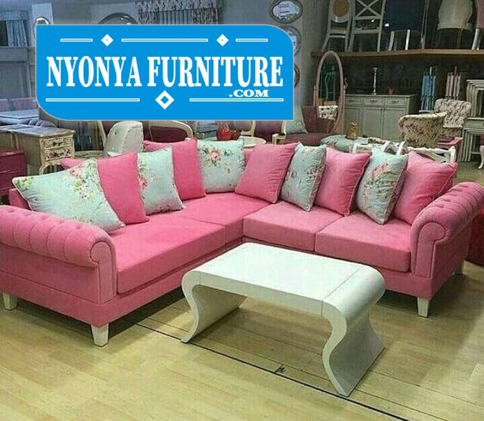 kursi sudut sofa biasa