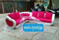 Kursi Tamu Sofa Sudut Mewah Minimalis Modern Terbaru