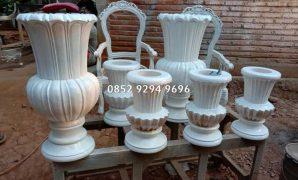 vas bunga dekorasi pelaminan pengantin manten