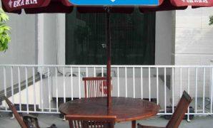 kursi meja payung