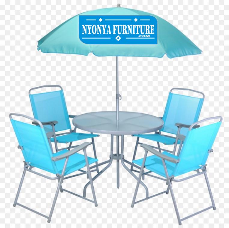meja payung bahan besi