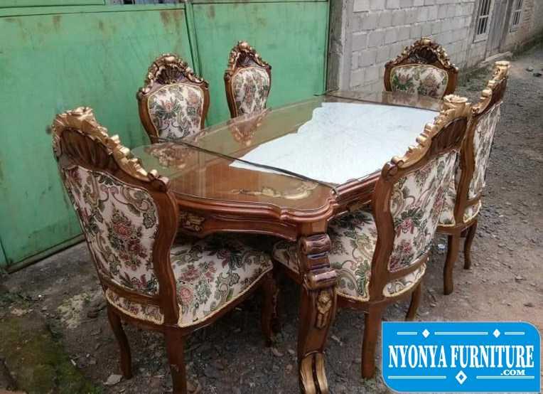 Jual kursi meja makan jati klaten