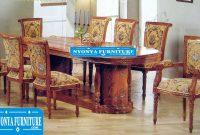 Meja Makan Salina Gendong 4 dan 6 Kursi