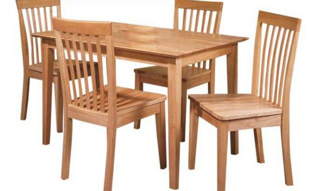 meja makan jati minimalis 4 kursi murah