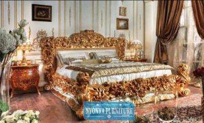 Tempat Tidur Mewah dipan italian classik