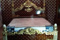 Ranjang tidur monalisa ukir