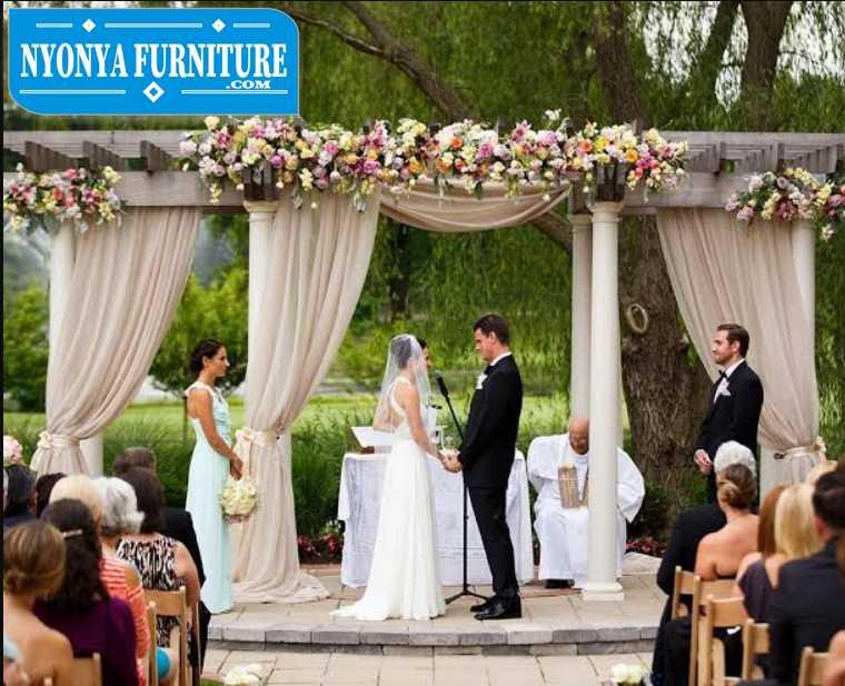 pergola wedding