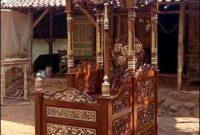 Mimbar Masjid Jati Mewah Khas Bali