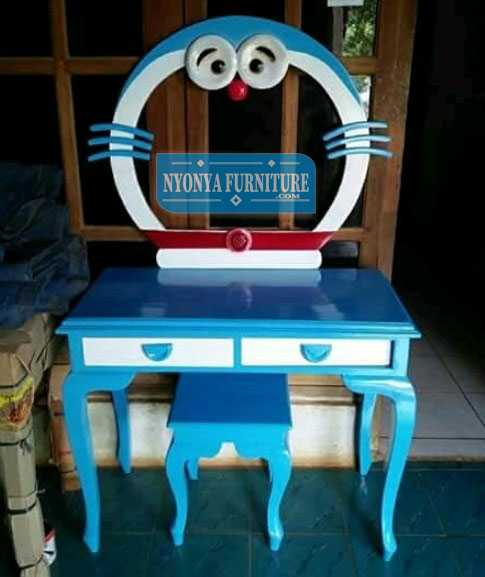 Tolet Doraemon jati Jepara