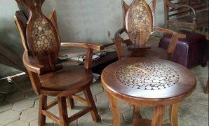 kursi teras ikan arwana