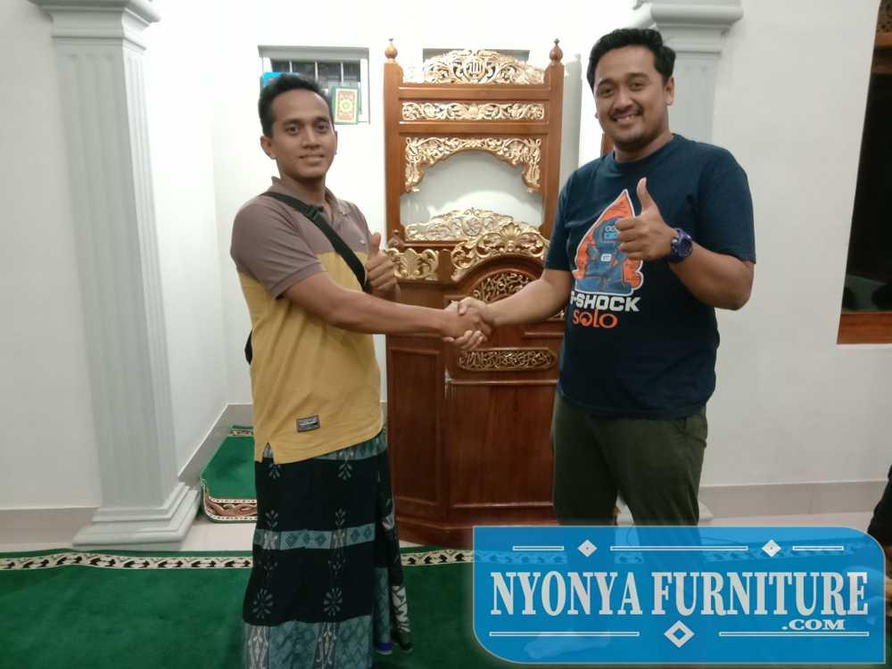 Jual Mimbar Masjid Ke Solo